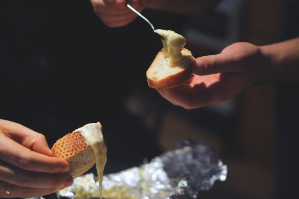 Vorarlbgerger Käsemischung für Fondue